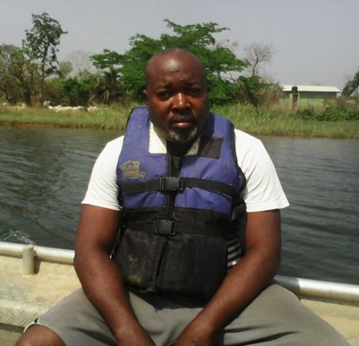 Nurudeen Tiamiyu, vice-president of the Tilapia and Aquaculture Developers Association of Nigeria