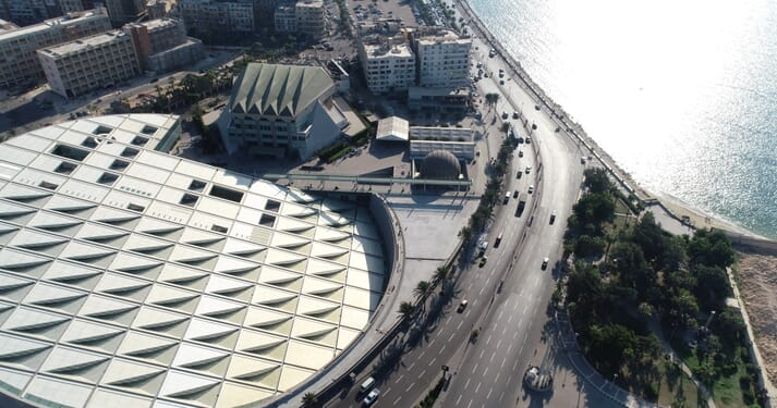 The conference is due to take place at the Bibliotheca Alexandrina
