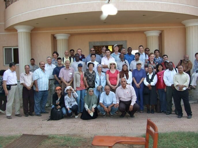 ISTA September 2008: aquaculture experts from around the world visited the EAC