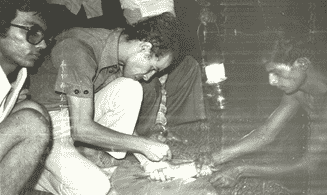 Exposure visits to India (above) and Thailand in 1983 opened up a new world of possibilities for Ismail