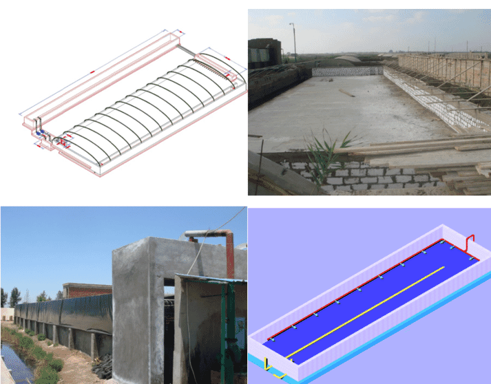 Ismail's design of a purpose-built, low-cost RAS system for nursery and growout of tilapias
