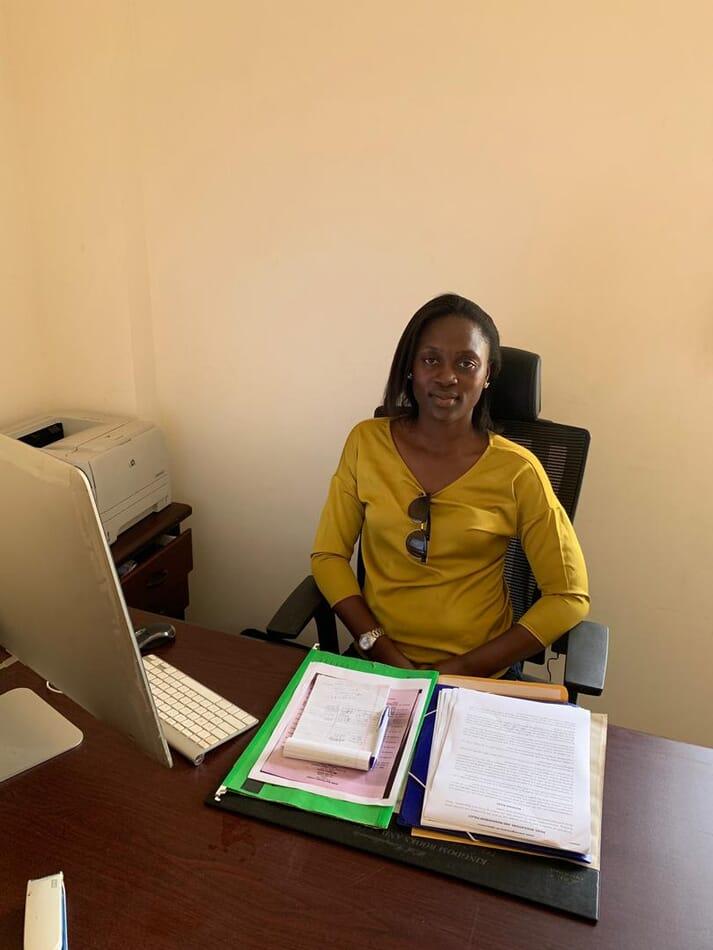 Jennifer Sodji runs Worldling Farms, which produces 50 tonnes of tilapia a week