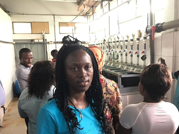Jennifer Sodji has considerable ambition, both for her own company and for Ghanaian aquaculture in general