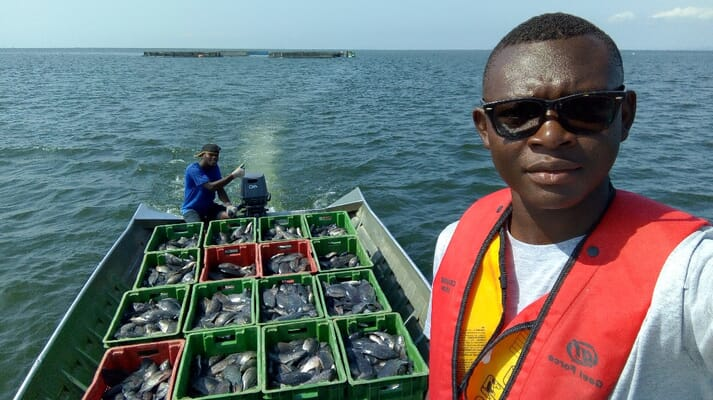 John Domazoro, farm manager at PBA Fish Farms and executive secretary of the Ghana Aquaculture Association, believes that further action is required