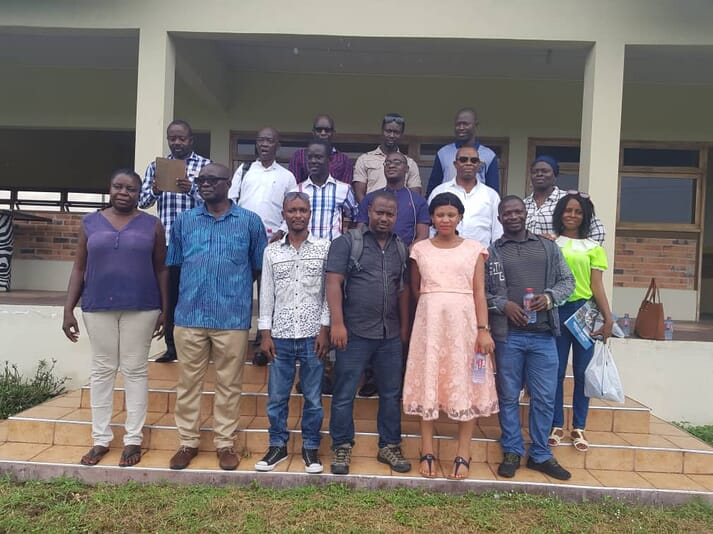 15 delegates from Sierra Leone have just visited Ghana to learn more about the country's aquaculture sector as they seek to set up their own fish farms