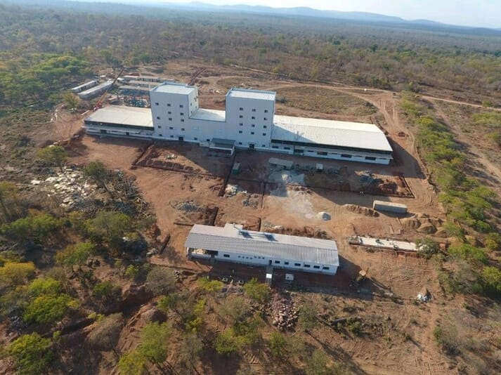 Aller Aqua's new feed mill in Zambia is due to open in August.