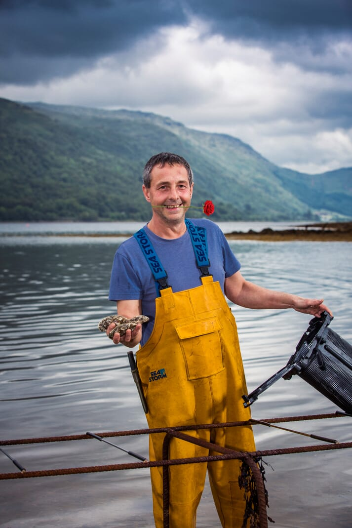 Andre Hughes of Loch Fyne Oysters is not surprised by the results of the research