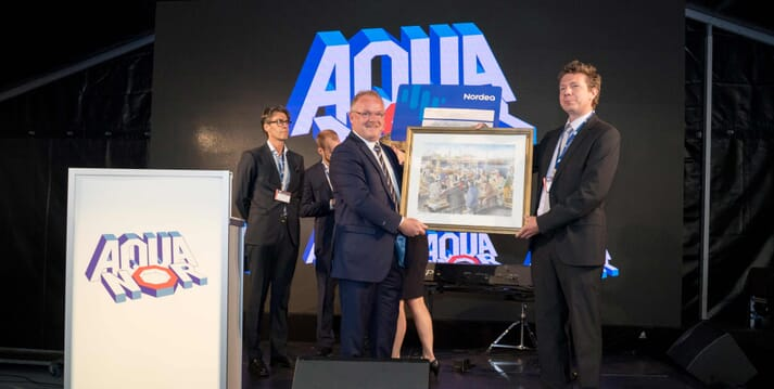 The Innovation Award recognises advancements in the aquaculture sector