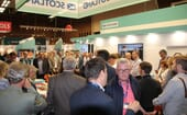 Busy activity and discussion at the Scottish pavilion thumbnail