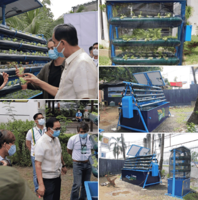 BFAR has been promoting small scale urban aquaponics systems since the outbreak of Covid-19