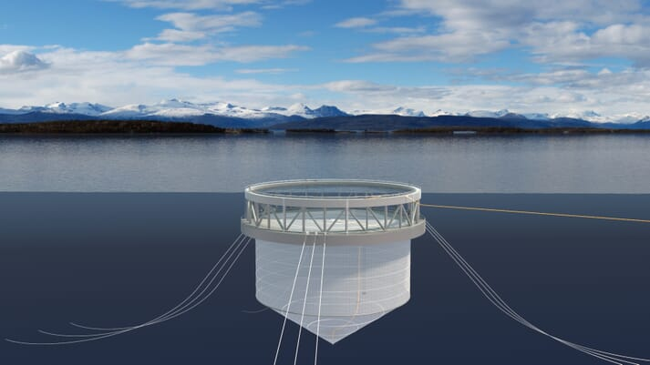 The green loan will help to finance the construction of the innovative Arctic Offshore Farming system