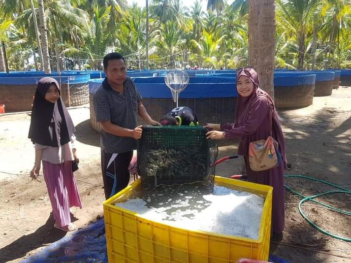 Central Proteina Prima (CPP) partners up with farmers who have limited resources, such as capital and land, and currently favours circular pond designs