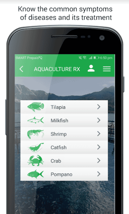 The app can be used for a range of species