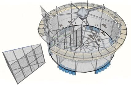 Fisher Piscicultura are now looking to commercialise their innovative cage system