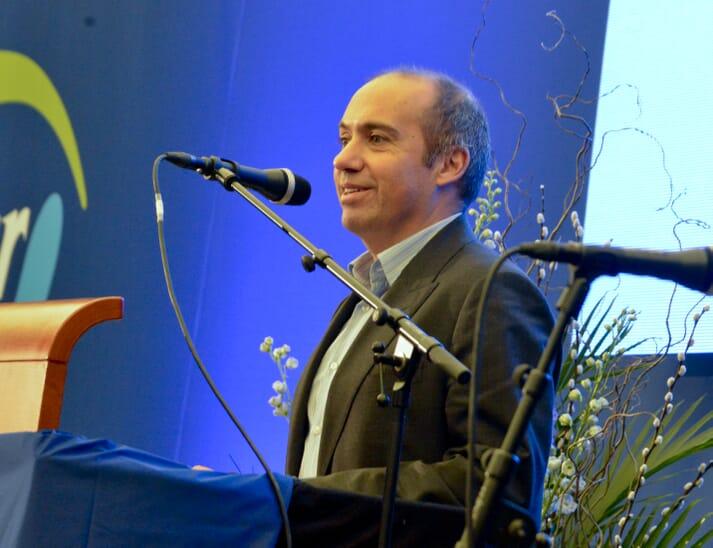 Carloz Diaz, CEO of BioMar