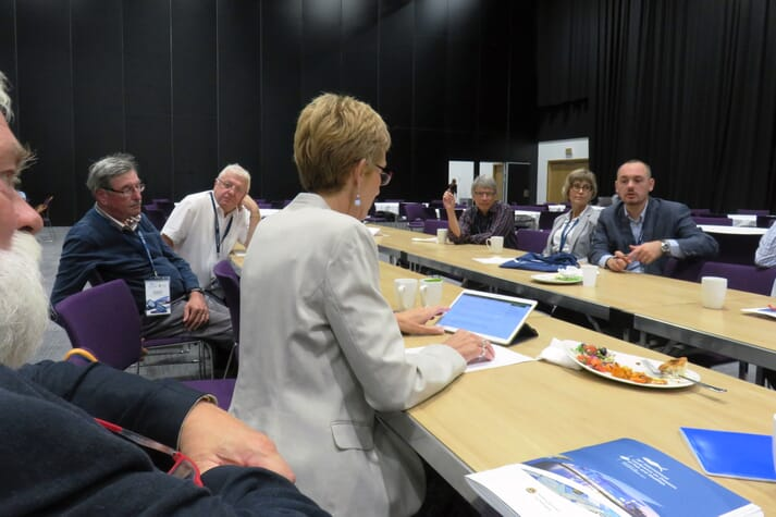 The active discussion undertaken during the EAFP Branch Officers and Council meeting