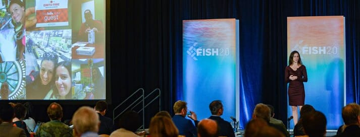 Fish 2.0 has a big focus on aquaculture this year, thanks to support from the NOAA, The Conservation Fund and The Gordon & Betty Moore Foundation
