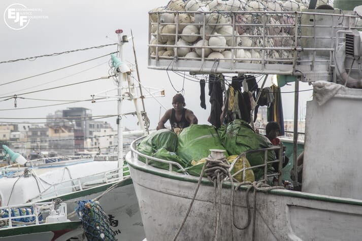 Many migrant labourers from Indonesia and the Philippines are being subjected to horrific working conditions on Taiwanese fishing vessels