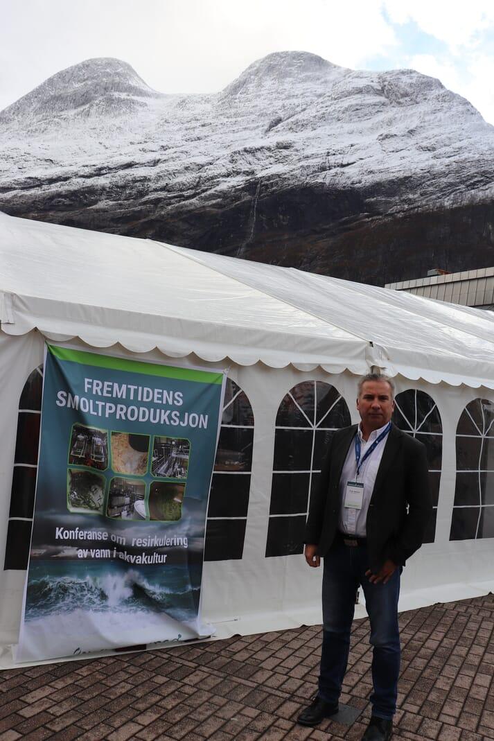 Frode Mathisen at the Sunndalsøra event