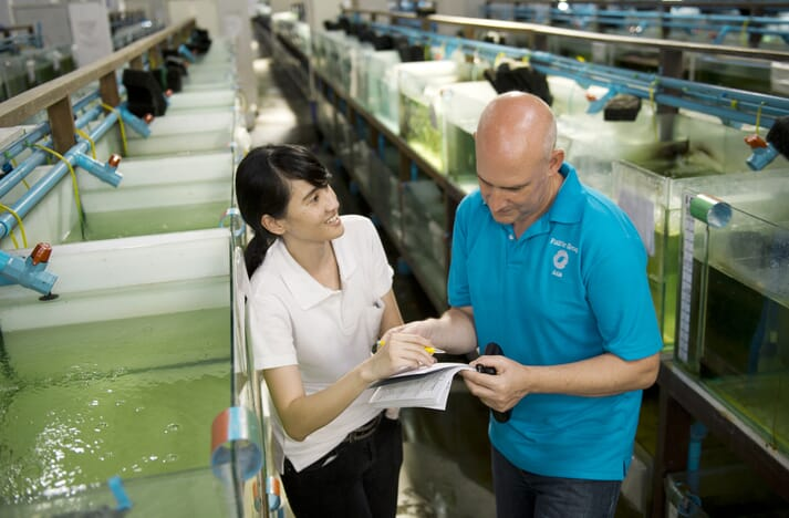 Fish Vet Group will be able to undertake challenge trials in their new facilities
