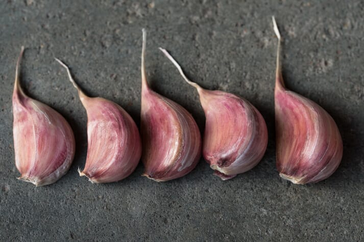 Diets containing 1.5 percent garlic  proved to be the best for growth while those containing 2 percent garlic were best for boosting immunity in tilapia