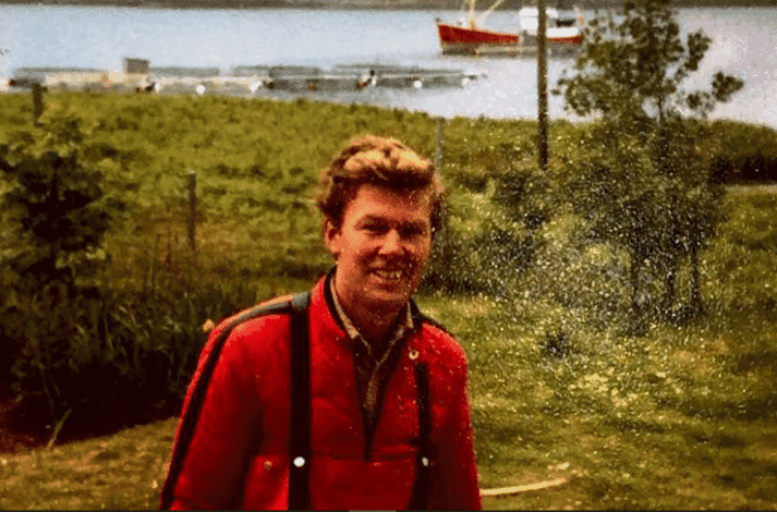 Geoff Kidd farmed salmon from 1978 to 2018