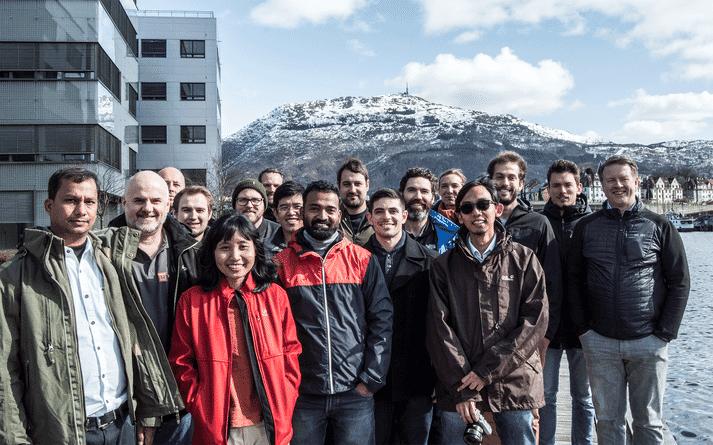 HATCH's first cohort were based in Bergen, Norway for three months