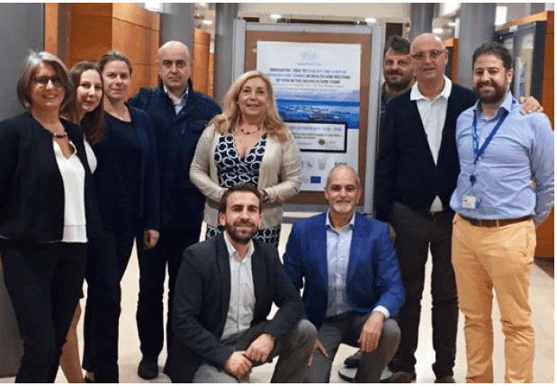 Healthy Fish project participants met in Valencia in October.