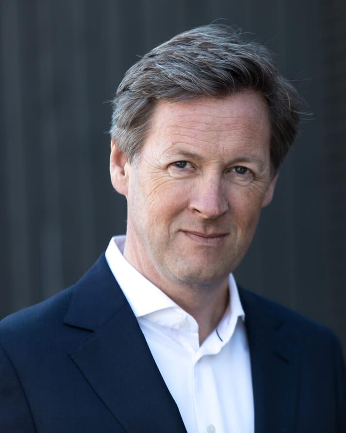 Petter Martin Johannessen, the incoming director general of IFFO