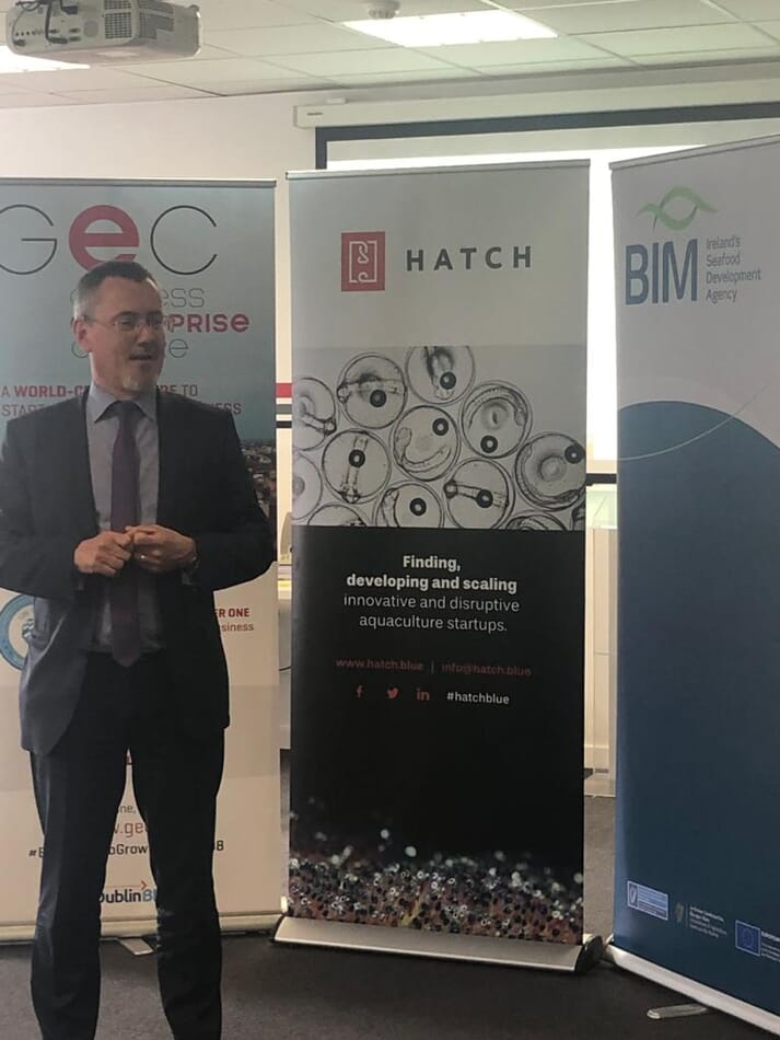 Hatch and BIM have run aquaculture innovation workshops in 2019 (pictured) and virtually in 2020