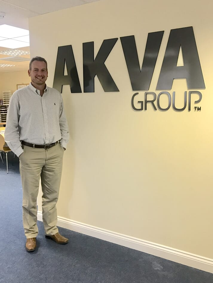 Jason Cleaversmith, general manager at Akva Group Scotland