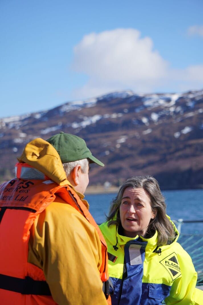 Julie Hesketh-Laird has been impressed by the diversity of the Scottish salmon industry
