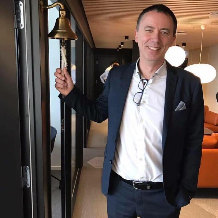 Kjartan Karlsen, MD of NSK Ship Design