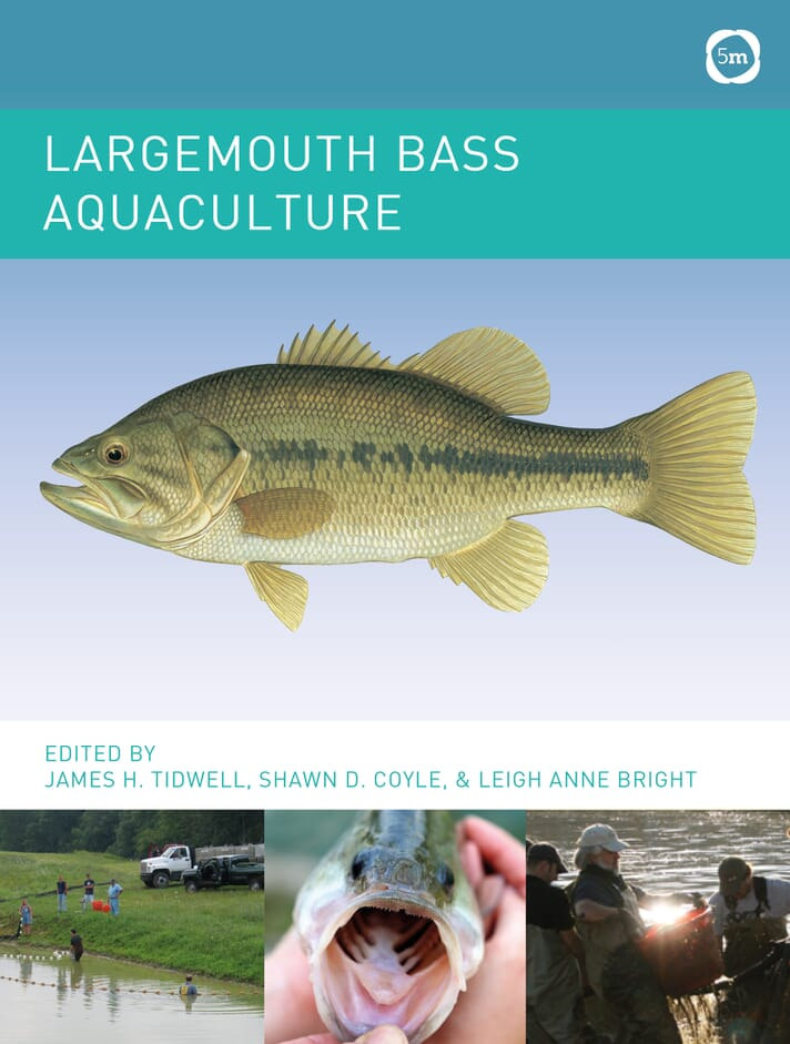 Jim Tidwell's new book aims to raise awareness of largemouth bass as a viable aquaculture species