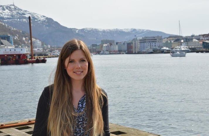 Linn Therese Skår Hosteland, the new industry and business policy adviser for Norway's Kystrederiene.