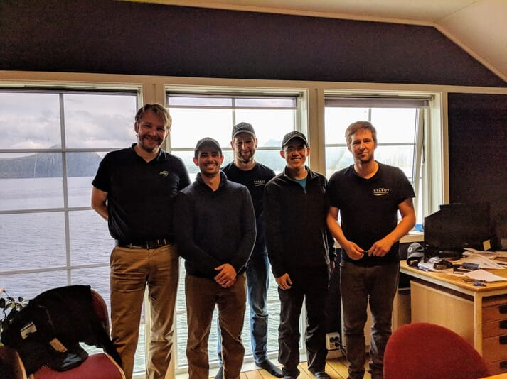 """Manolin have developed an """"ASC dashboard"""" which is already being used by Kvarøy , one of Norway's most progressive salmon farming companies"""