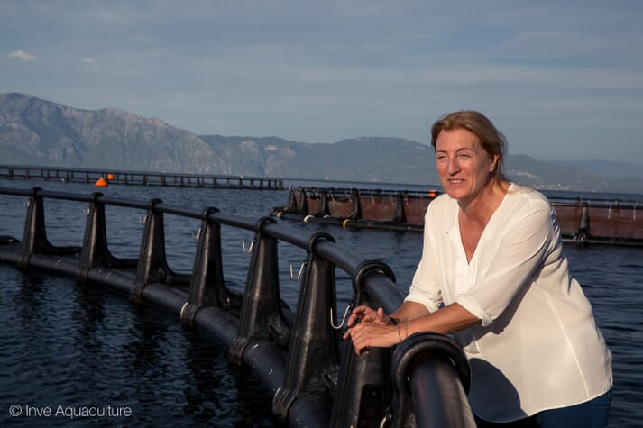 Isabel Represas is INVE Aquaculture's sales director in Europe and the Middle East