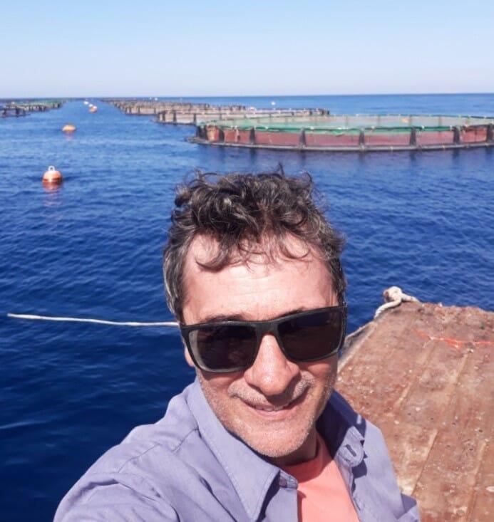 Thomas' aquaculture career has taken him all round the world