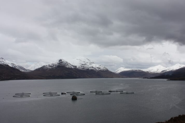 Mowi's Loch Torridon site: changes in the ASC standard mean that the company has redoubled its efforts to have all its Scottish sites certified to the ASC standard