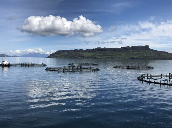 64 tours, across 16 salmon farms, had been planned for May