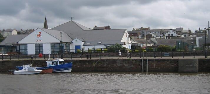 Lake District Coast Aquarium, in Maryport.