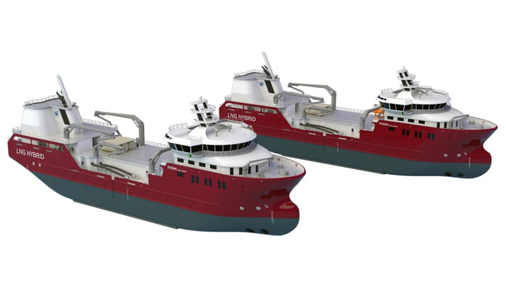 The wellboats will be called NSK4126 / NB1088 and NSK4464 / NB1089