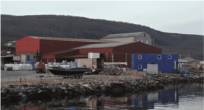 The plant has the capacity to process 25,000 tonnes of salmon a year