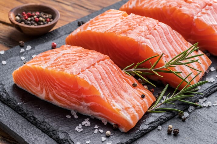 Europe is the largest market for the UK's farmed salmon exports, but these have suffered 10 days of delays