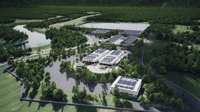 Artist's impression of Pure Salmon's planned $162 million Soul of Japan RAS facility