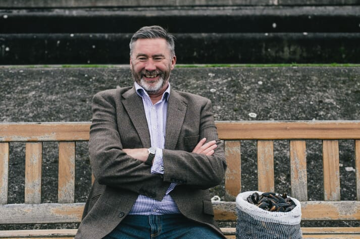 Cameron Brown, MD of Loch Fyne Oysters