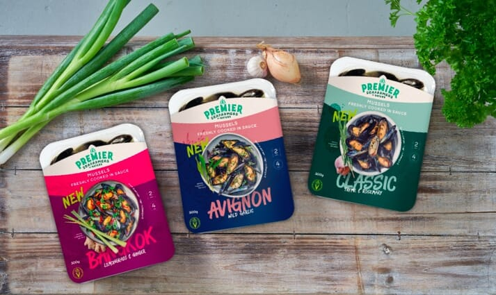 The companies hope their new range of pre-cooked options will open up ne markets for their mussels