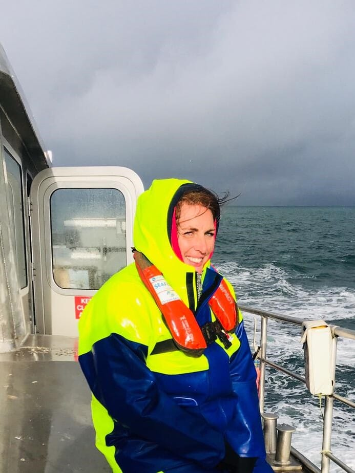 Sarah Holmyard, marketing manager at Offshore Shellfish