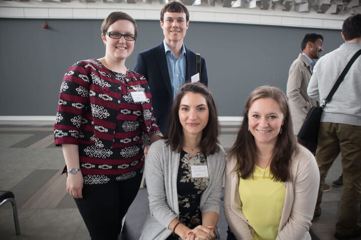 The event is being organised by the Aquaculture Students Association (ASA), including Athina Papadopoulou, second from right