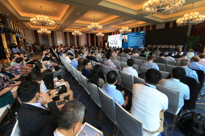 The 2016 GOAL conference took place in Guangzhou, China